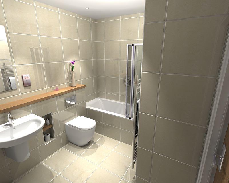 image showing Highkiln Hastings East Sussex Bathroom2