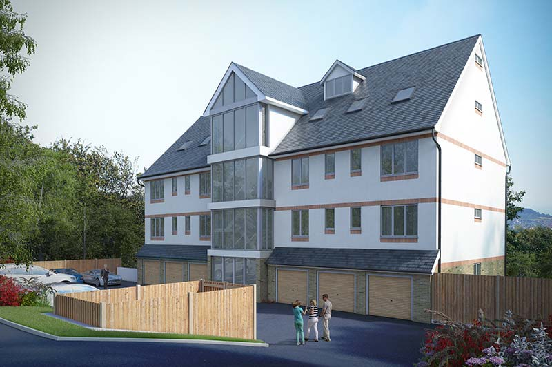 Image of Highkiln; 13 luxury apartments with commanding views of the Hastings coast