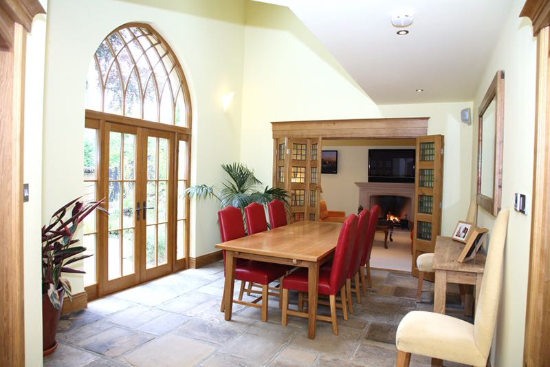 Image of Kenley Surrey Dining Gothic Doors