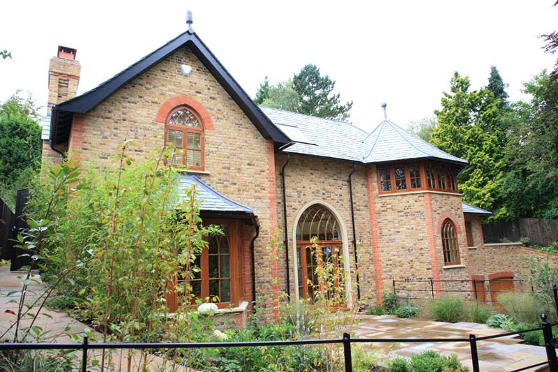 Image details: This neo-Gothic house in Kenley, Surrey was an inspiring challenge