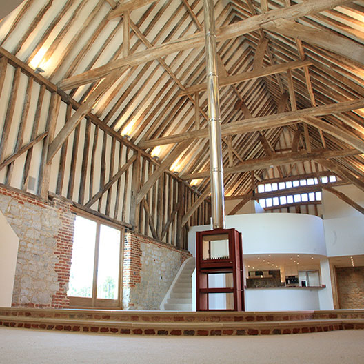 Image of Banqueting Hall Detail, Place Farm Barn, Bletchingley, Surrey