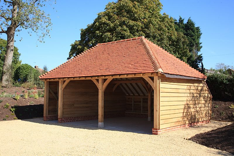 Image of Place Farm Barn Bletchingley Garage