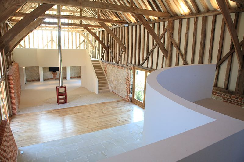 Image of Place Farm Barn Bletchingley View Banqueting Hall