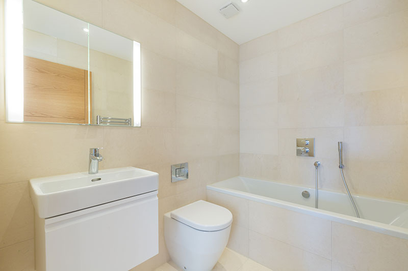 Image of Penthouse Bathroom, The Point, Hove, East Sussex