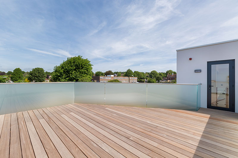 Image of Penthouse Roof Terrace, The Point, Hove, East Sussex