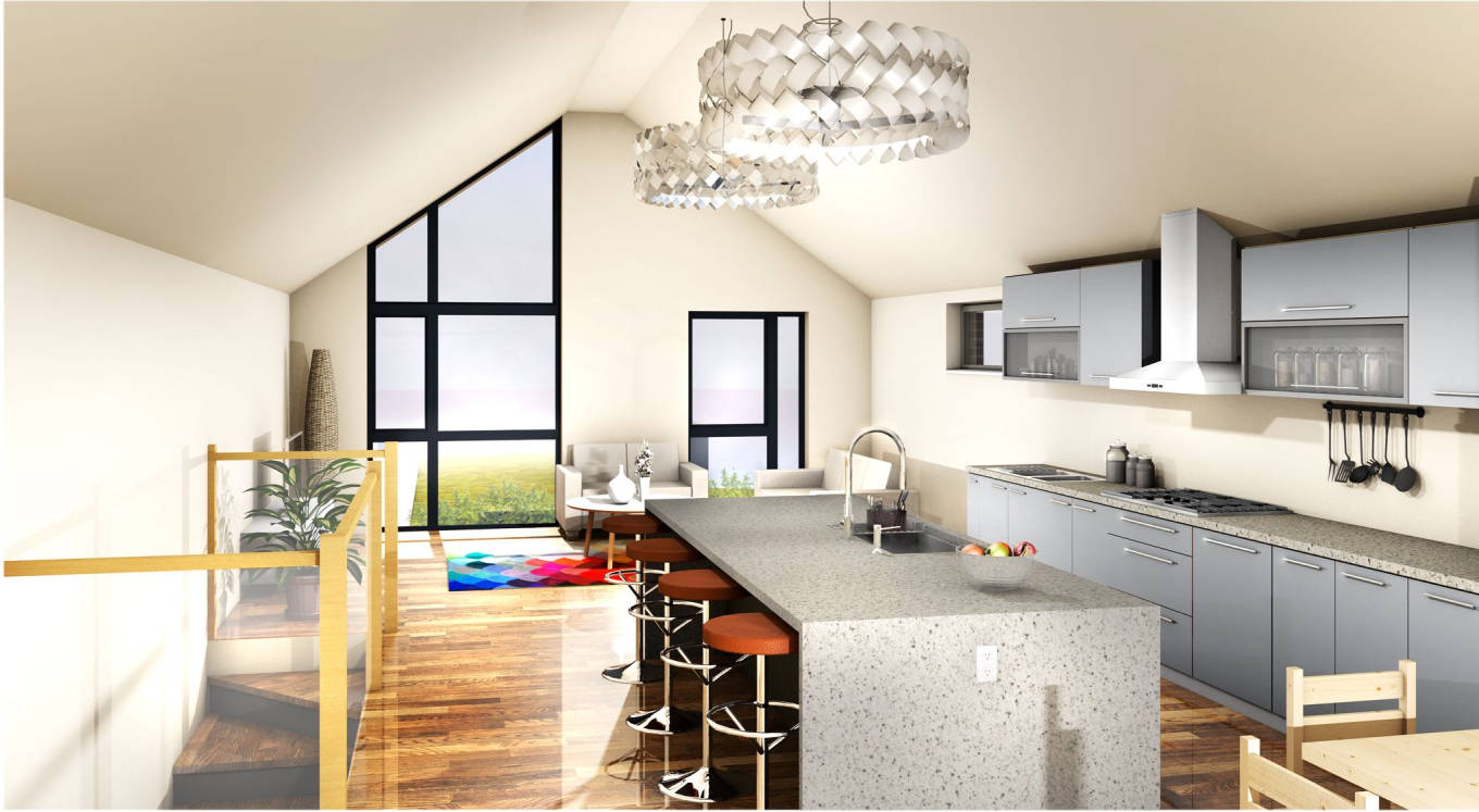 Image of Design CGI of a Greenways New Home interior view