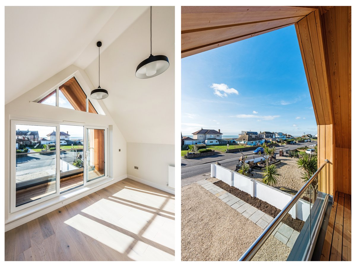 Image of Interior spaces in the beautiful new build development at Old Fort Road, Shoreham