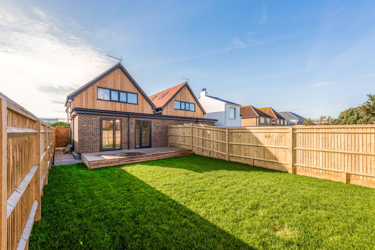 Image of Exterior views and landscaping of the beautiful new build development at Old Fort Road, Shoreham